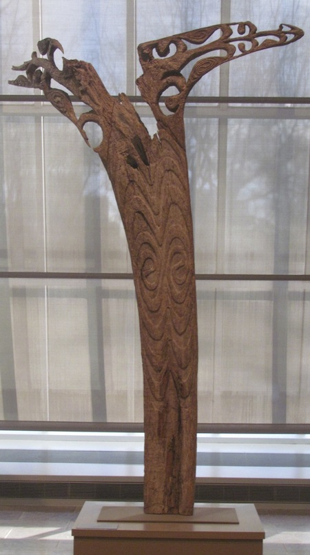 Wooden Sculpture at Metropolitan Museum of Art