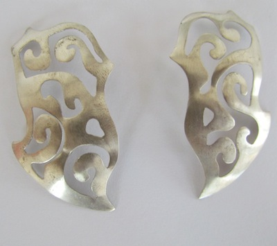 Silver Models for Earrings