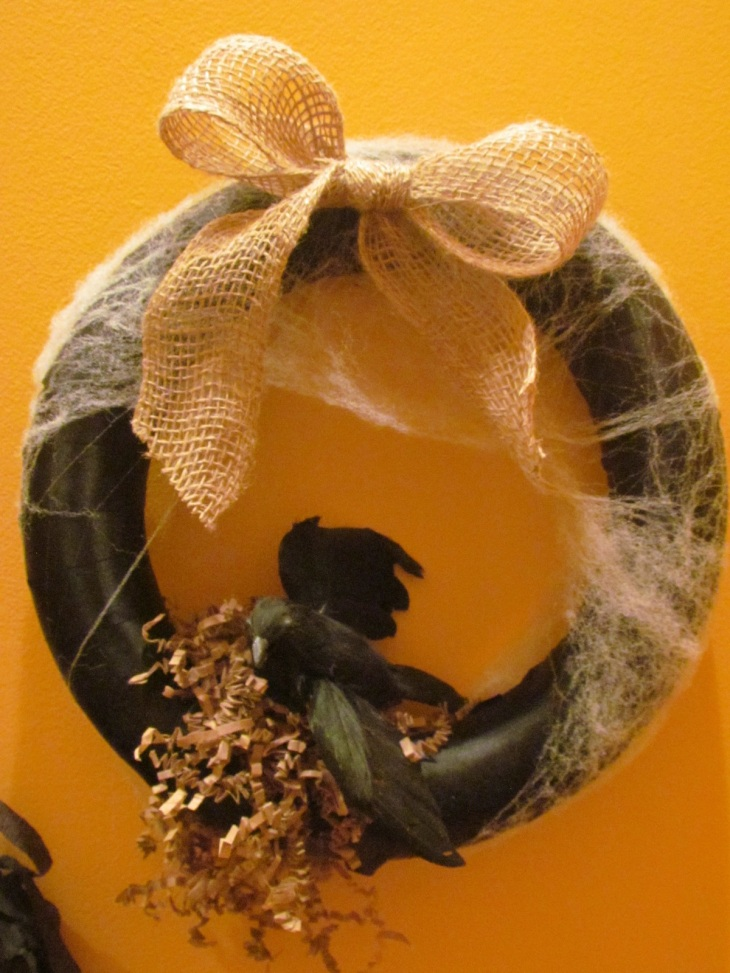 Raven's Nest Wreath