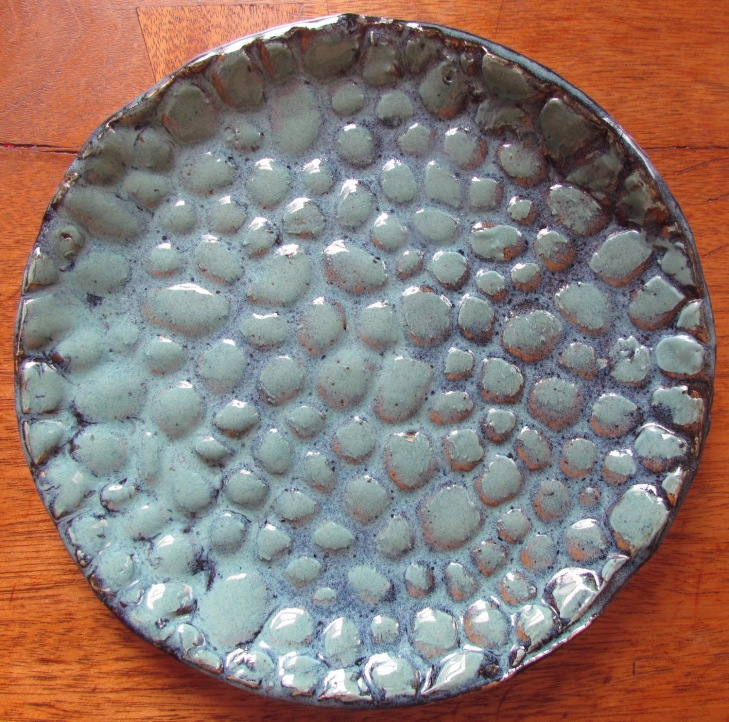 Pebbles in a Plate